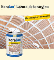 Koralan® Dekorlasur (lazura dekoracyjna)
