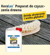Koralan® Holzreiniger (preparat do czyszczenia drewna)