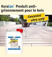Koralan® Produit anti-grisonnement pour le bois
