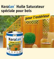 Koralan® Huile pour bois spéciale