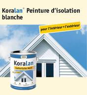 Koralan® Peinture d'isolation blanche
