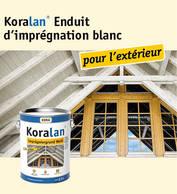 Koralan® Enduit d'imprégnation blanc