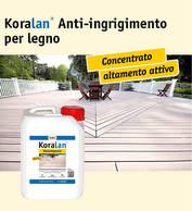 Koralan® Anti-ingrigimento per legno
