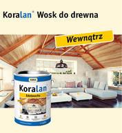 Koralan® Wosk do drewna