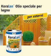 Koralan® Olio speciale per legno