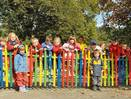 Ogrodzenie w przedszkolu