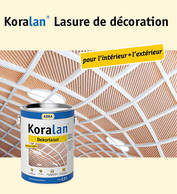 Koralan® Lasure de décoration