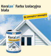 Koralan® Isolierfarbe Weiß (farba izolacyjna biała)