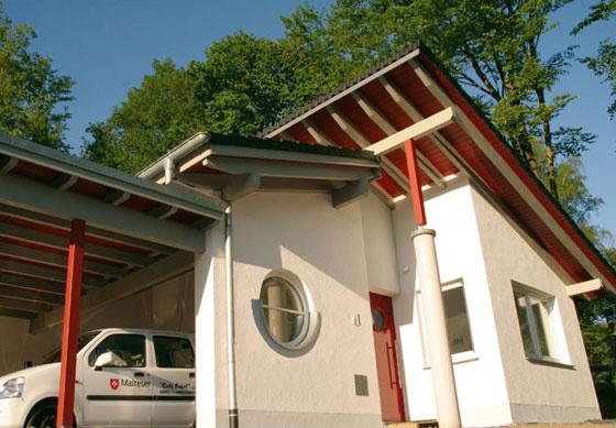 Neubau der Fahrzeughalle des Malteser Hilfsdienst e.V., Balve