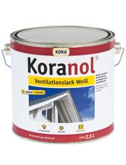 Koranol® Ventilationslack Weiß