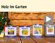 Film instruktażowy Koralan® Holz im Garten