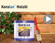 Film produit Koralan® Huile pour bois