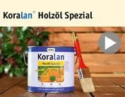 Film instruktażowy Koralan® Holzöl Spezial