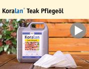 Produktfilm Koralan® Teak Pflegeöl