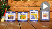 Koralan® Wood in the Garden