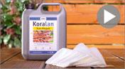 Koralan® olej do pielęgnacji drewna teakowego